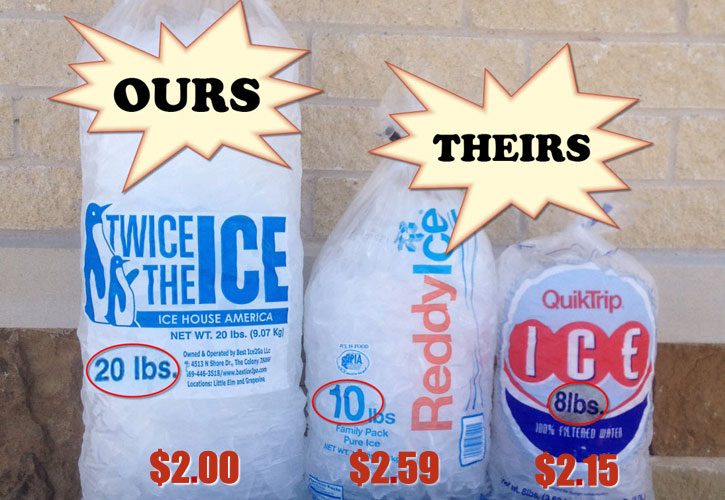 Twice The Ice Products Services
