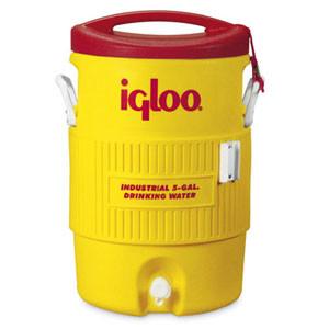 Yellow Igloo Cooler